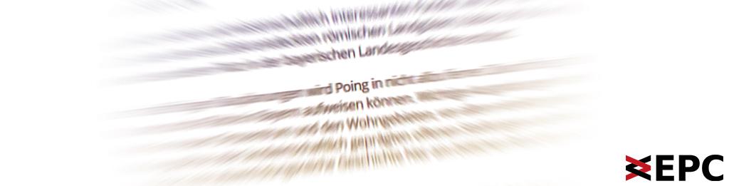 Bild mit dem Wort Poing