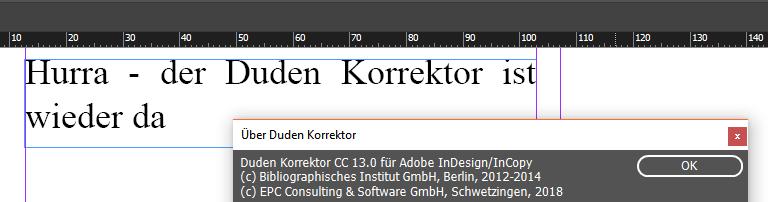 Der Duden Korrektor CC 13.0