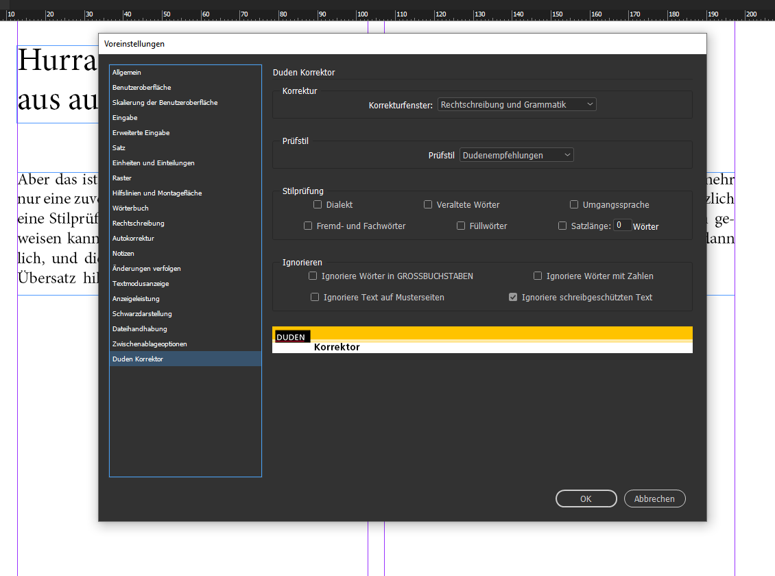 Duden Korrektor CC für Adobe InDesign und InCopy   EPC Consulting ...